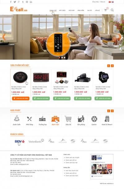 web bán hàng công nghệ